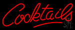 Cocktails LED Neon Sign