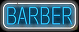 Barber Salons Neon Sign