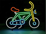 Bike Bicycle Riding LED Neon Sign