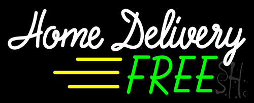 Free Home Delivery Neon Sign Home Improvement Neon Signs Neon Lights